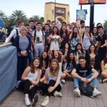Valencia Employees and Students Host French Exchange Students