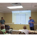 East Campus Students Present at Visual Aid Volunteers of Florida Conference