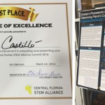 West Campus Student Awarded First Place for Research Poster at STEM Summit