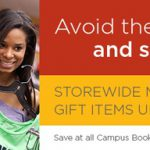 Hurry and Take Advantage of a Holiday Sale at Campus Bookstores