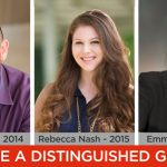 Recognize Our Students Who Have Persevered; 2017 Distinguished Graduate Deadline is February 24