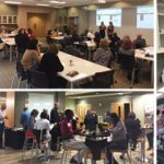 First-Ever Endowed Chair Speed Dating and Happy Hour a Success