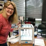 Kristin Abel Puppeteers 3D-Printing Project for Upcoming Theater Performance — Faculty Highlight