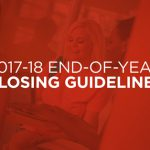 2017-18 End-of-Year Closing Guidelines