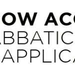 2020-2021 Sabbatical Leave Application is Now Open