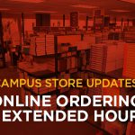 Campus Stores Extend Hours and Offer Online Ordering in Preparation for New Semester
