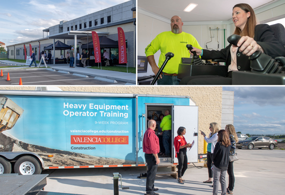 Community Explores Center for Accelerated Training at Open House