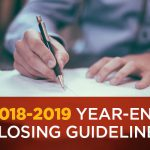 2018-2019 Year-End Closing Guidelines