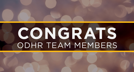 ODHR Team Members Earn Key Industry Credentials