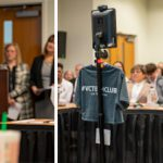 Kevin the Robot Visits Valencia's Board of Trustees
