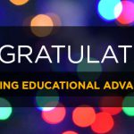 Celebrating Educational Advancements — Winter 2019