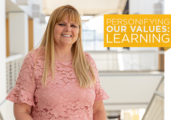 Featured Colleague: Susan Ambridge, From High School Dropout to Earning Five Valencia Degrees