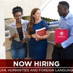 Now Hiring: Dean, Humanities and Foreign Languages
