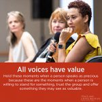 PJI Principle 12: All Voices Have Value
