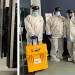 Custodial Team Uses New Technology to Clean Campus