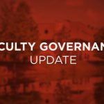 Faculty Governance Update — August 2020