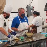 City of Orlando Mayor Buddy Dyer Makes Bon Bons at the Downtown Campus