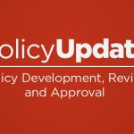 Policy Update: How Are College Policies Developed, Reviewed and Updated?