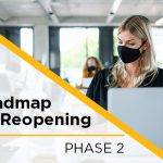 Roadmap for Reopening: Phase 2 Reminders for the Fall Term
