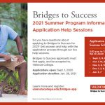 Encourage Students to Apply for Bridges to Success