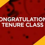Congratulations to the Tenure Class of 2021
