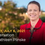 You're Invited to A Conversation With Kathleen Plinske